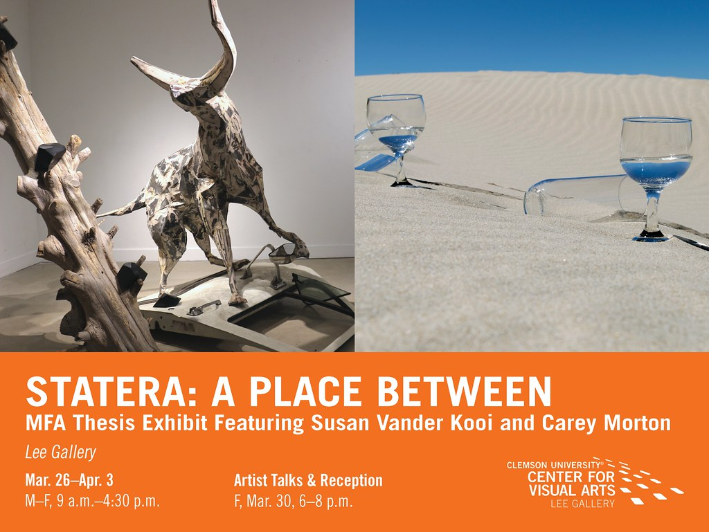 2018 Spring MFA Exhibit-Statera: A Place Between