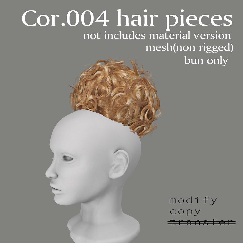 PiecesThe Cor Boon 004 Hair 011 Bun Of Lab Sold jLqS35ARc4