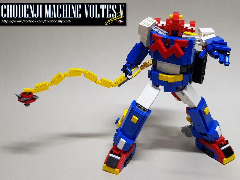 Lego Voltes V 11 Inch Version Lend69 Flickr