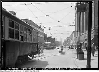 College and Yonge streets, looking south | by Toronto History