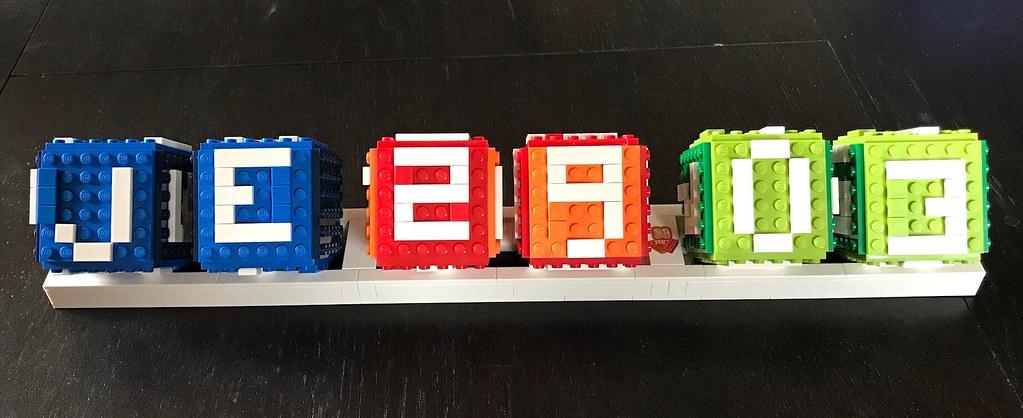 Lego Calendrier.Calendrier Lego Lego4444 Flickr