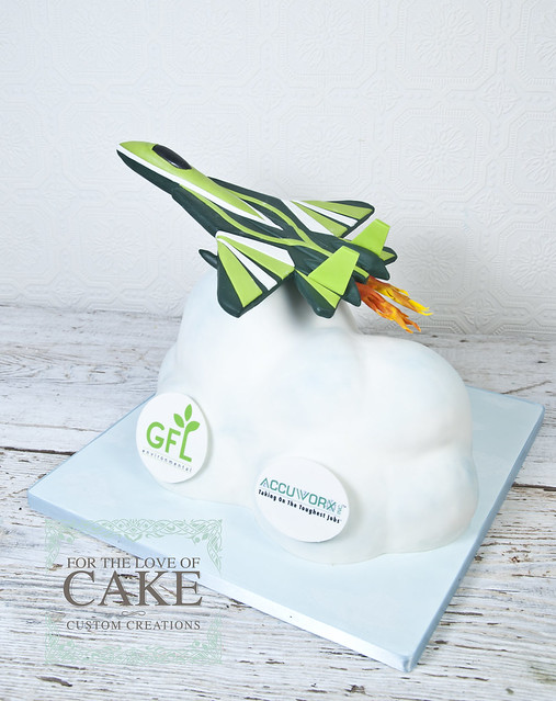 N1413-jet-airplane-custom-cake-toronto