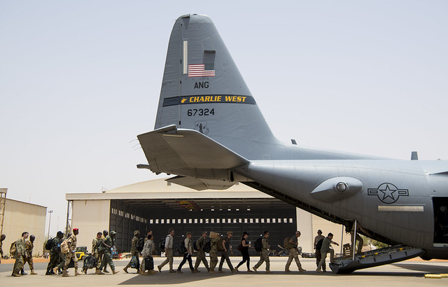 Flintlock 2018 airfield operations