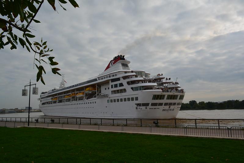 Départ du paquebot MS BRAEMAR - Bordeaux - 09 octobre 2013