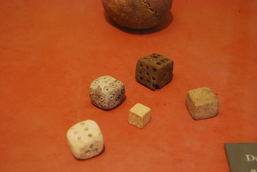 Ancient Egyptian dice