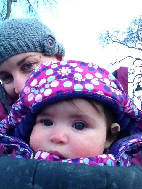 It's so cold mummy
