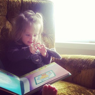 Singing itsy bitsy to bunny before nap. #LookForTheLovely | by mooshinindy