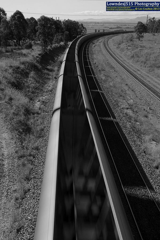 Empty Coal Train by LowndesJ515