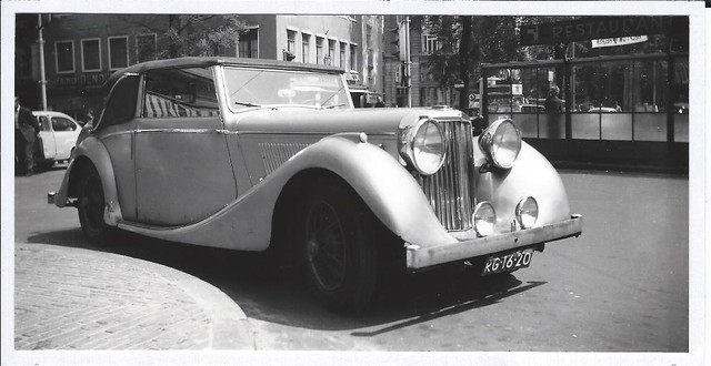RG-16-20 Jaguar 3 1/2 Litre Drophead Coupé 1948