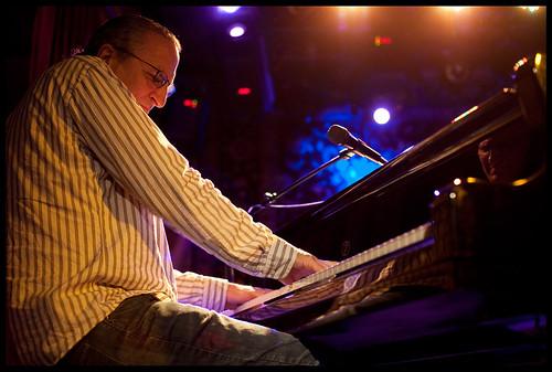 Joe Krown  at WWOZ's Piano Night.  Photo by Ryan Hodgson-Rigsbee www.rhrphoto.com