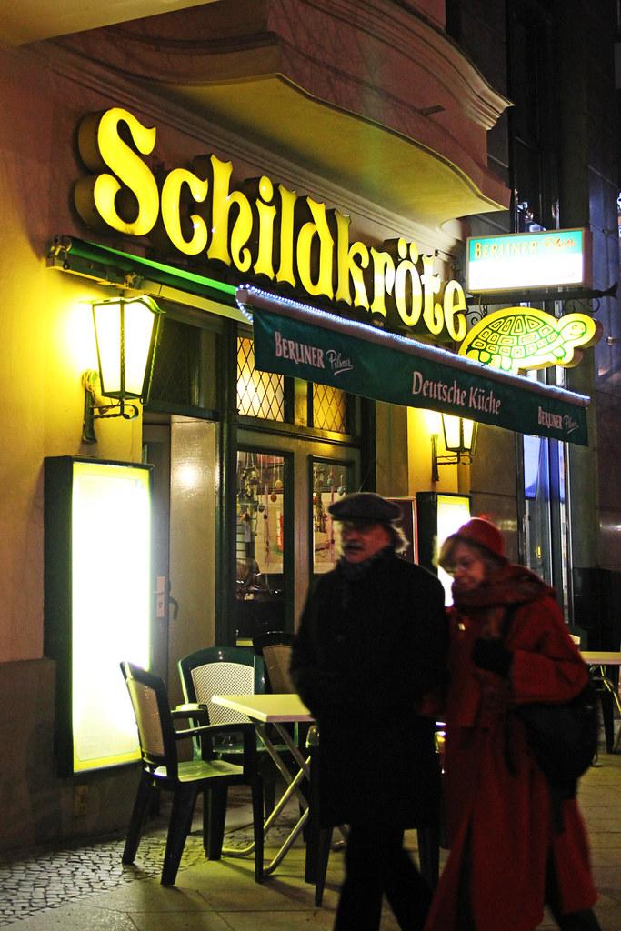 Abend Am Kurfürstendamm Berlin Restaurant Schildkröte Be Flickr