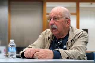 Gene Wolfe at NIU - April 3, 2013 | by OldOnliner