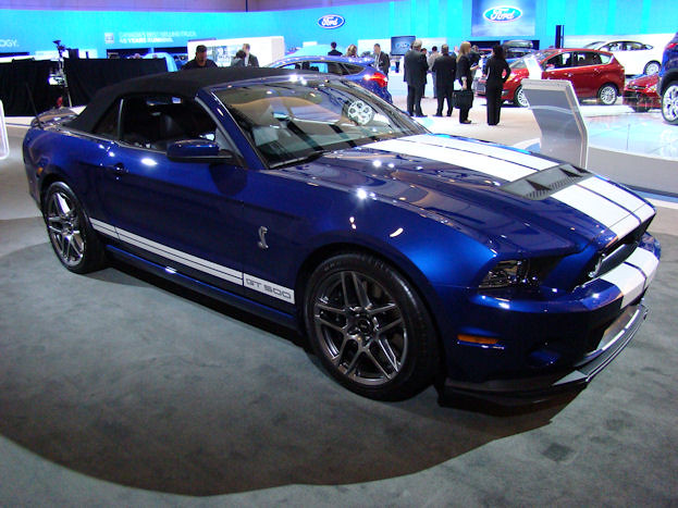 Ford Shelby GT500 Convertible at 2012 Canadian International Auto Show