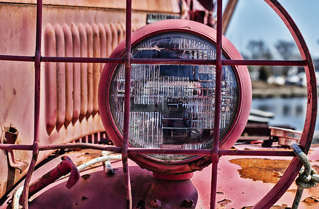 Headlight--Shipyard Truck