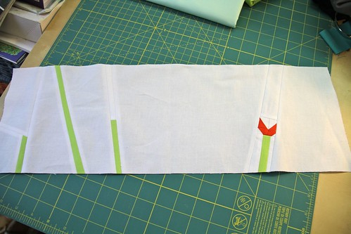 Traveling Quilts - Penny's quilt - what I made!
