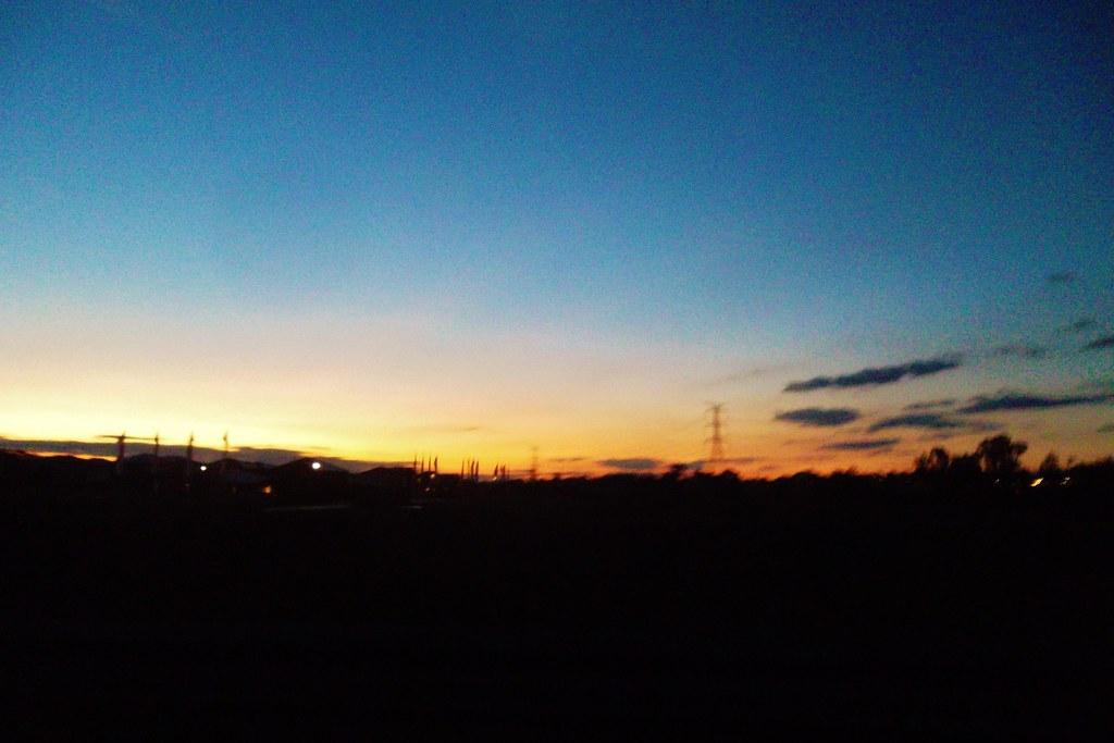 Sunrise at 6am