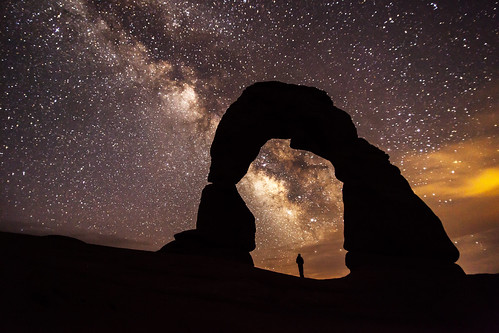 Delicate Arch at Night | by ArchesNPS