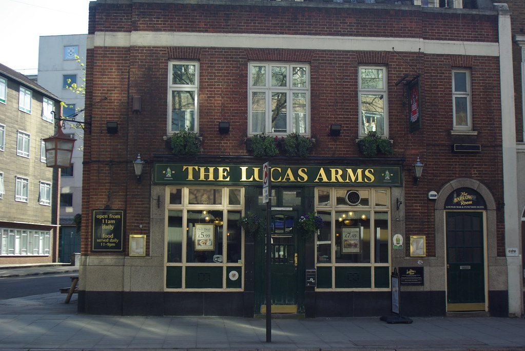 Lucas Arms Kings Cross London Lucas Arms 245a Grays Inn Flickr