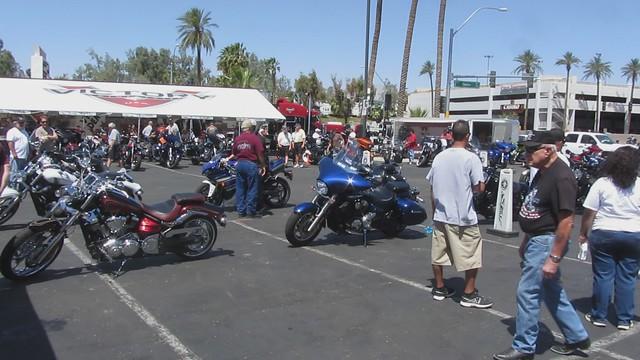 MVI_8737 Laughlin Yamaha demo motorcycles Victory