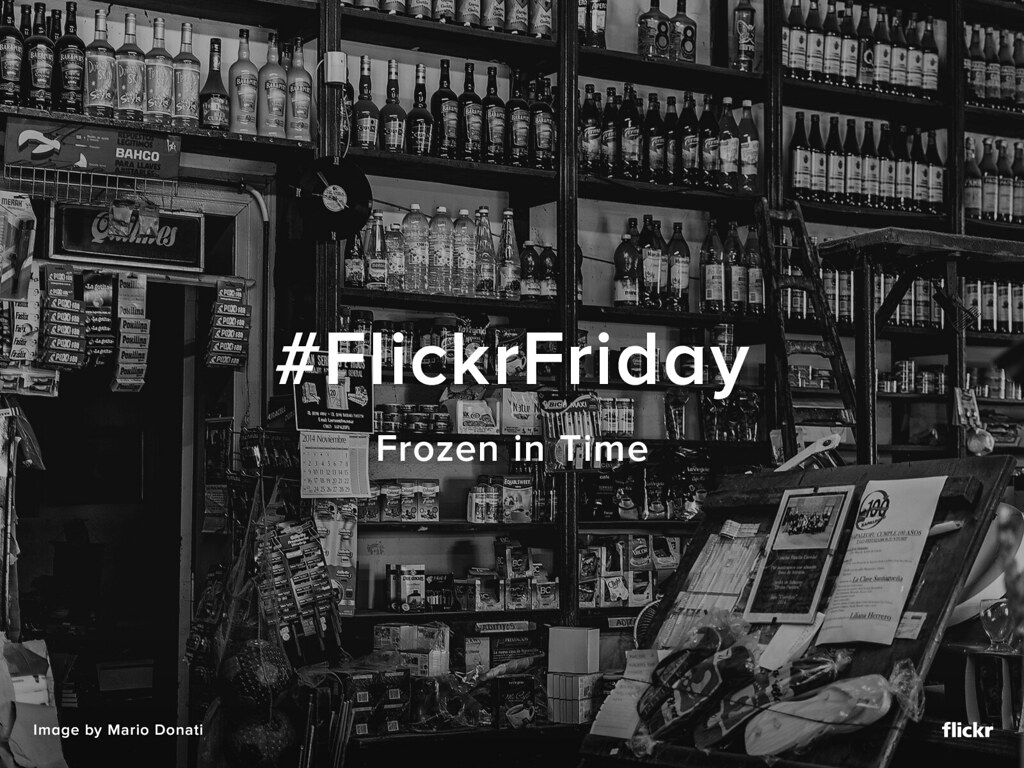 #FlickrFriday - Frozen In Time