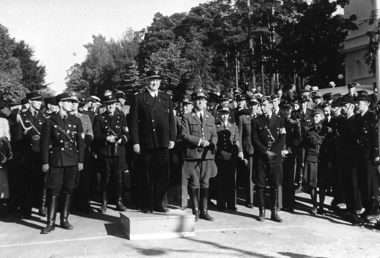 Sarpsborg, juli 1942.