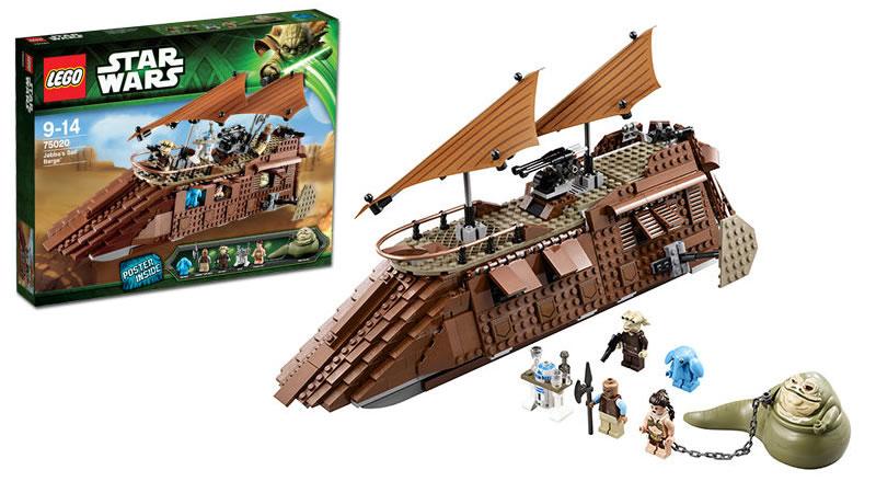 Lego Star Wars Jabba Sail Barge Ginger Shark Flickr