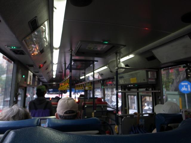 <p>d)士林駅からは故宮博物院までバスがたくさん出ていますので、15元(45~50円)の料金で目的地まで!</p>