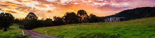 road sunset panorama clouds barn rural canon post matthew shed glastonbury australia queensland dirtroad tamron countryroad gympie 2875mm 60d matthewpost
