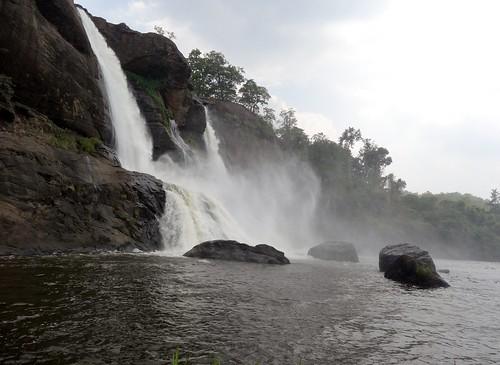 fall waterfall kerala athirapally