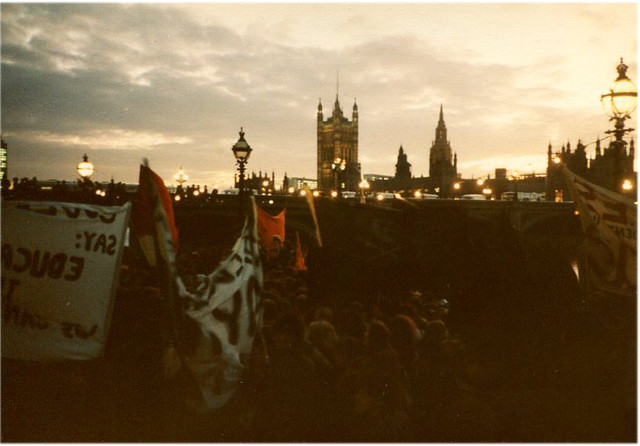 student demo 1984