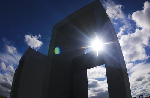 Bonfire Memorial Sun