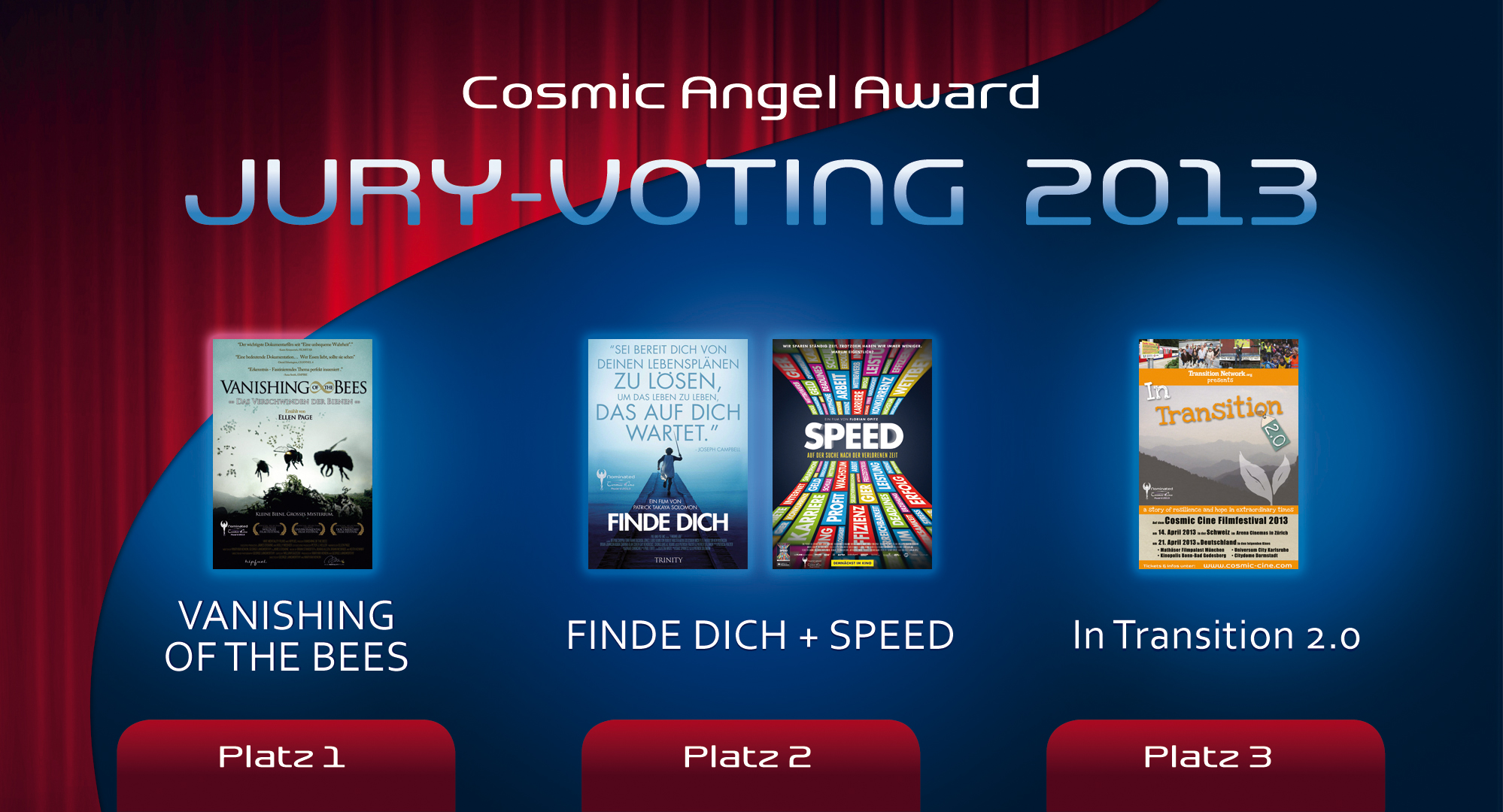 01 Cosmic Cine Filmfestival 2013 - Cosmic Angel Award 2013 JURY