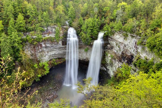 Fall Creek Falls, Coon Creek Falls, Fall Creek Falls SP, Van Buren Co, TN