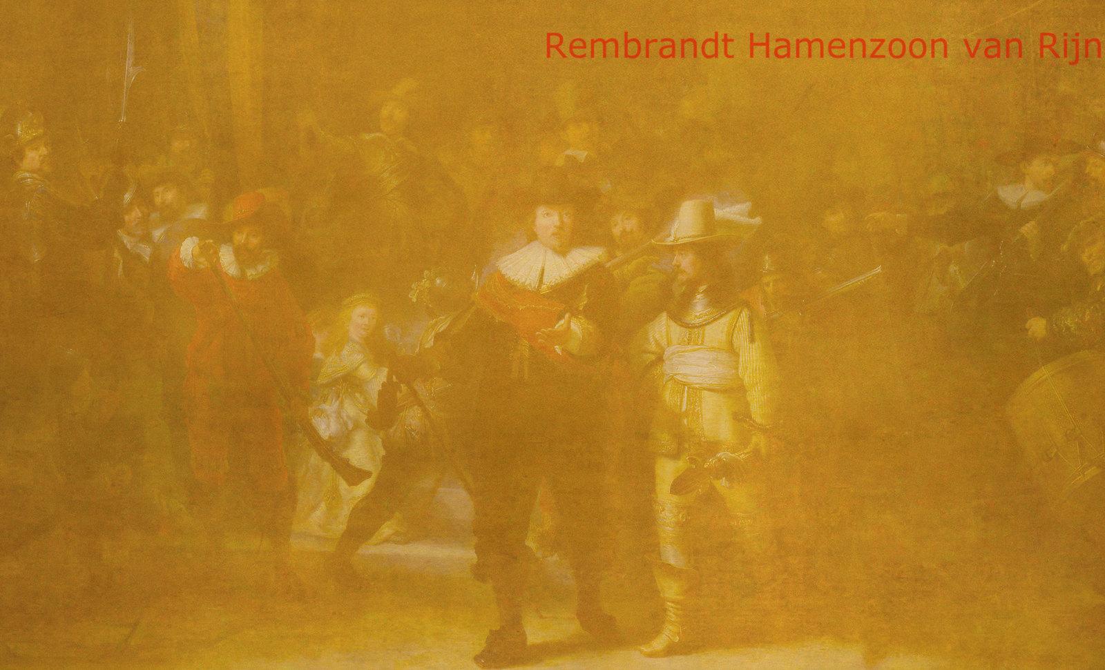 Mosqueteros, perceptualización de Rembrandt Hamenzoon van Rijn (1640), deconstrucción minimalista de Henri Matisse (1903), transfiguración de Pablo Picasso (1969).