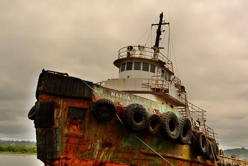 ocean sea color water clouds oregon boat nikon rust ship working vessel maritime tugboat tug nikkor hdr towboat sause nakoa somar nikkor18200mm d7100 nikkor18200mmvrii sausebrothers