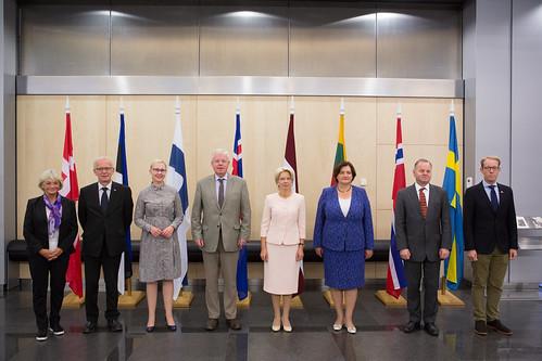 Ziemeļvalstu un Baltijas valstu parlamentu priekšsēdētāju konference | by Saeima