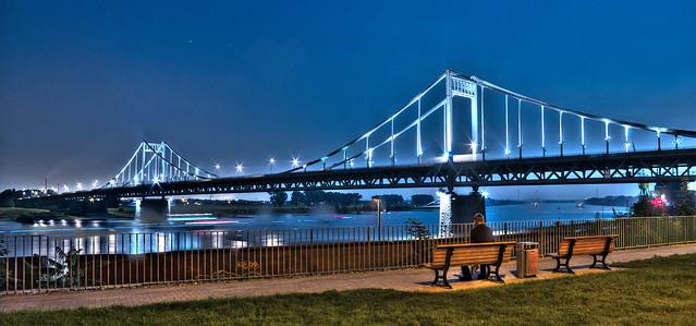 Krefeld Rheinbrücke
