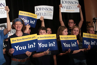 Gary Johnson supporters | by Gage Skidmore