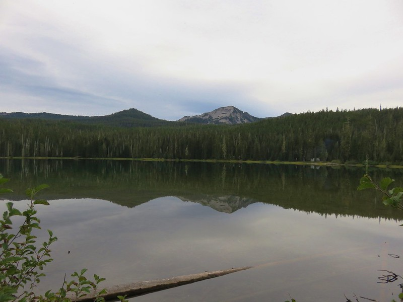 Sawtooth Mountain from Timpanogas Lake