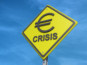 Yield Euro Crisis Blue Sky | by One Way Stock