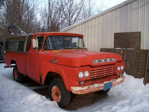 1959 Ford Napco 4x4 | Spotted on craigslist for $2,500  Swee