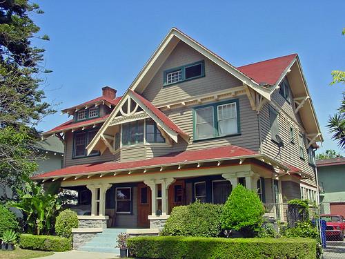 27c Guthery House - 2628 Van Buren Pl - Transitional Craftsman (E) | by Kansas Sebastian