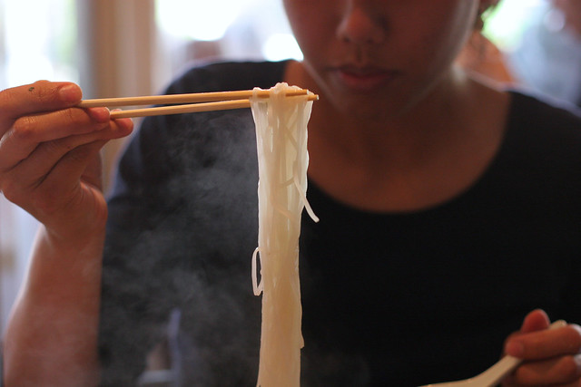 Steaming Noodles