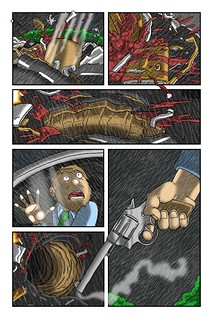 Commuters Issue #1 Pg. 12 | by Mike Riley