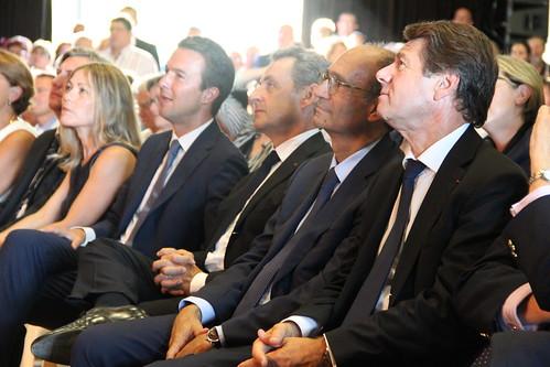 Nicolas Sarkozy et Guillaume Peltier à Vendôme   by ladroiteforte