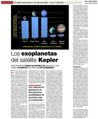 Zoco de Astronomía: Los exoplanetas del satélite Kepler   by Ángel López-Sánchez