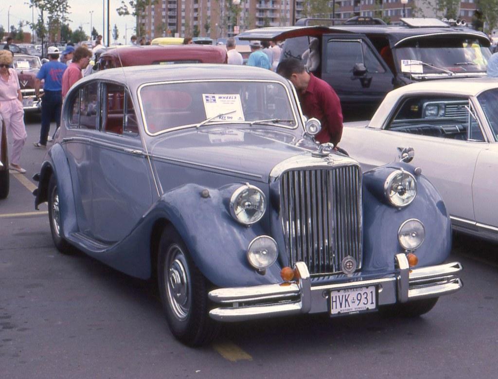 1948 Jaguar Mark V 3 1/2 Litre Saloon   Richard Spiegelman   Flickr