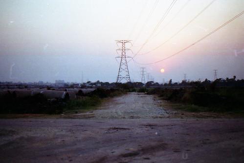 sunset film nikon dhaka nikkor bangladesh nikonf6 af50mmf18d fujicolorc200 dhakadivision epsonv330 electricgridline sheikhshahriarahmed