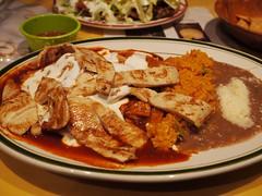 月, 2013-04-15 19:20 - チラキレス(赤いサルサ、鶏肉付き)