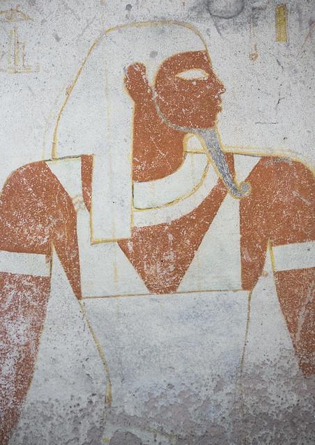 Amseti In The Burial Chamber Of The Tomb Of Tanutamani, El Kurru, Sudan